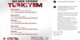 """Ünlü isimlerden """"Biz Bize Yeteriz Türkiyem"""" kampanyasına destek"""