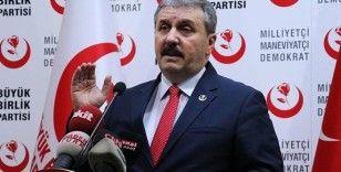 BBP Genel Başkanı Destici: 'Minimum 2 hafta tam izolasyon sağlamalıyız'