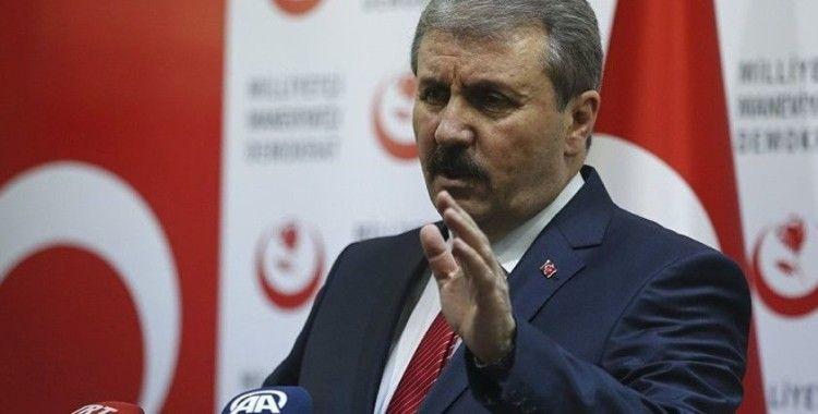 BBP Genel Başkanı Destici: 'Bu mücadeleyi de birlik ve yüksek dayanışma gücümüzle kazanacağız'