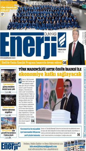 Enerji Dünyası - Nisan 2020