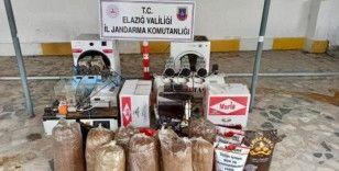 Kaçak sigara imalathanesine baskın: 2 gözaltı