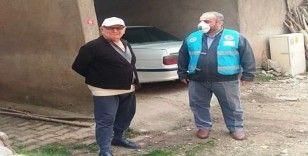 Hisarcık'ta 'Vefa Sosyal Destek Grubu'na din görevlileri de destek veriyor