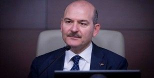 Bakan Soylu: '15 gün içerisinde 2 bin 977 hesap hakkında işlem yapıldı'