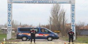 Konya'da bir mahalleye karantina kararı