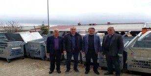 Besni Belediyesi'ne çöp konteyneri