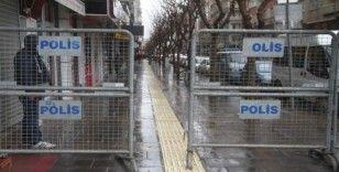 Elazığ'ın işlek caddelerinde Korona virüs önlemi arttırıldı