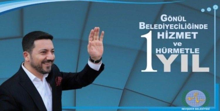 Belediye Başkanı Rasim Arı, 'Nevşehir halkına desteklerinden dolayı teşekkür ederim'
