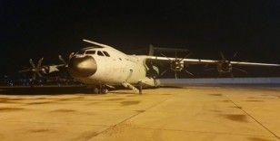 MSB: 'İspanya ve İtalya'ya yardım malzemesi götüren uçak iniş yaptı'
