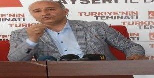 """SP Melikgazi İlçe Başkanı Sinan Aktaş, """"Salgın sonrasında ikinci bir sıkıntı ile karşılaşmamalıyız"""""""