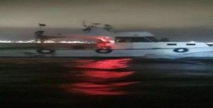 Bursa Gemlik'te trol teknesi yakalandı