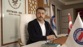 """Eğitim-Bir -Sen  Bursa 1 No'lu Şube Başkanı Acar: """"Ücretli öğretmenlerin ve usta öğreticilerin mağduriyeti giderildi"""""""