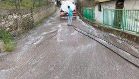 İzmit sokakları dezenfekte ediliyor