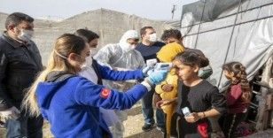 Mersin'de 800 tarım işçisinin ateş ölçümü ve genel sağlık taraması yapıldı