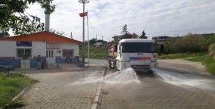 Mersin'in ilçelerinde 2 bin 700 kamu kurumu ve ortak alan dezenfekte edildi