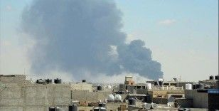 Libya'da hükümet güçleri Hafter milislerine mühimmat taşıyan kamyonları vurdu