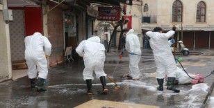 Kilis'te dezenfekte çalışmaları sürüyor