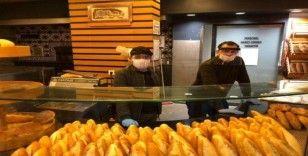 Alaplı'da yüz koruyucu maske üretimi başladı