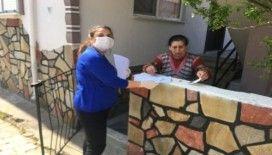 Burhaniye'de öğretmenler Vefa Sosyal Destek Grubunda gönüllü oldu