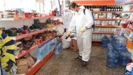 Bayraklı'da 3 koldan dezenfeksiyon