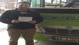 """Otobüs şoförü 1 haftalık kazancı ile """"Biz Bize Yeteriz Türkiye"""" dedi"""