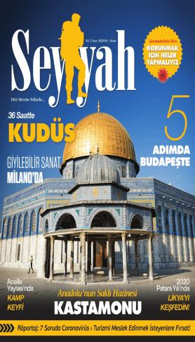 Seyyah - Nisan 2020