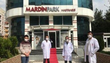 Mardin'de 66 yaşındaki hasta koronavirüsü yenerek taburcu oldu