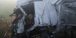 Bulgaristan'da 22 tırın karıştığı zincirleme kazada ölü sayısı 2'ye çıktı
