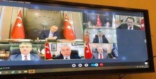 Başkan Demir, Cumhurbaşkanı Erdoğan'a Samsun'un virüsle mücadelesini anlattı