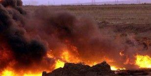 Irak'ta petrol boru hattında yangın çıktı