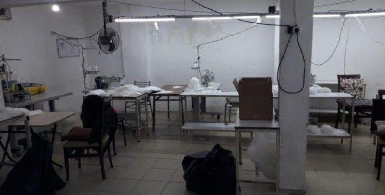 Kocaeli'de 5 bin adet kaçak maske ele geçirildi