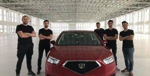 Kastamonulu Ensar Özden, yerli otomobilde beyin takımında!
