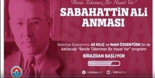 "Sabahattin Ali'ye ""dijital"" anma"