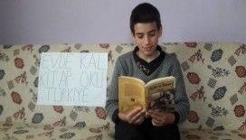 """Hisarcık'ta ortaokul öğrencilerinden """"Evde kal"""" çağrısı"""