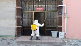 Kilis'te dezenfekte çalışmaları aralıksız sürüyor