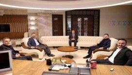 AK Parti heyeti, NEVÜ Rektörü Aktekin'e ziyaret