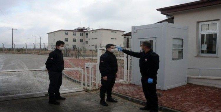 (Özel) Eskişehir'deki cezaevlerinde virüs mücadelesi en üst seviyede