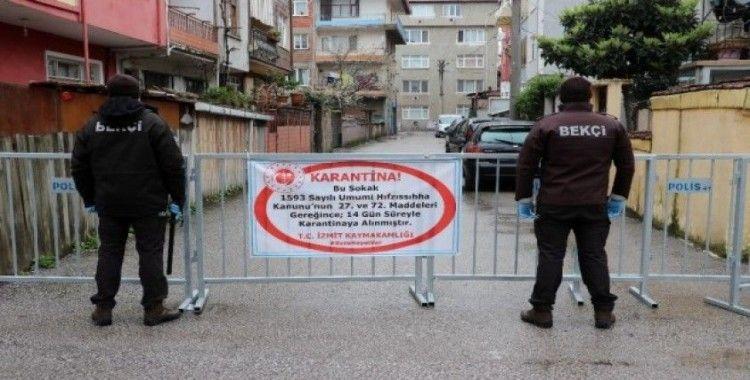 Eşi korona virüs tedavisi gören yaşlı kadın ölünce sokak karantinaya alındı