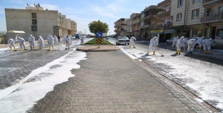 Haliliye'de salgınla mücadele devam ediyor