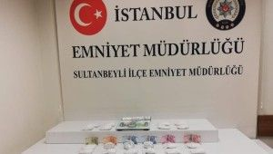 İstanbul'da piyasa değeri 1.5 milyon lira olan kokain ele geçirildi