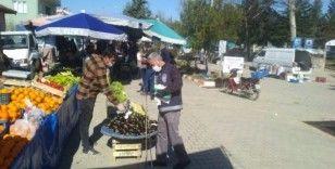 Pazarlar ilçe pazarında önlemler
