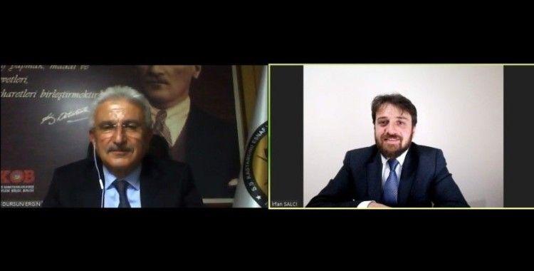 KESOB Başkanı Ergin: 'Esnafa verilen destek artmalı'