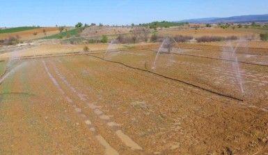 Kastamonu'da sulu tarımla ekonomiye 290 milyon liradan fazla katkı sağlanacak