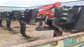 Tarım aletlerini çalan hırsızlar yakalandı