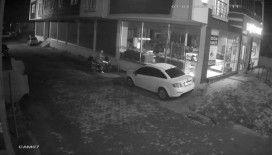 Hırsız kendi motosikleti gibi çalıp gitti