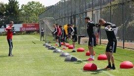 Beşiktaş hazırlıklarını sürdürdü
