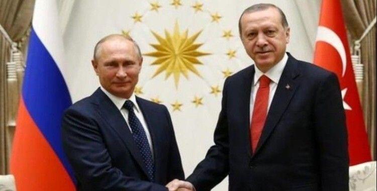 Cumhurbaşkanı Erdoğan'dan Putin'e tebrik mesajı