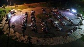 Korona günlerinde arabalı sinema keyfi