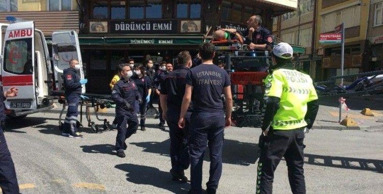 Kadıköy'de tatbikatındaki kazada yaralanan itfaiye erinden acı haber
