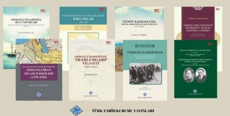 Türk Tarih Kurumundan 8 yeni kitap