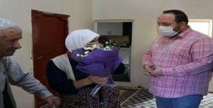 Viranşehir'de şehit anneleri ve eşleri unutulmadı
